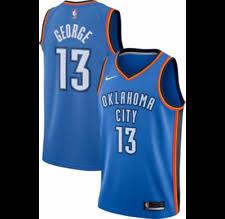 paul george oklahoma city thunder nba jerseys ebay