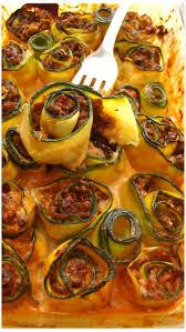 journal des femmes cuisine recette de cannelonis de courgette au boeuf et à la tomate la
