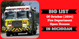 halloween city livonia michigan big list of fire department open houses in michigan during
