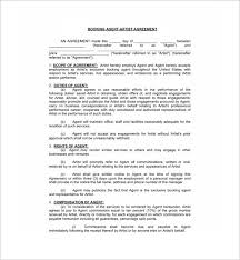 agent contract templates agreement to pay referral fee contract