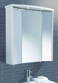 triple mirror bathroom cabinet picturesque hib illuminated bathroom cabinets in cabinet home