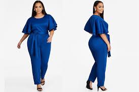 stewart jumpsuits plus fashion find flutter sleeve jumpsuit from