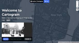 cartogram map instant maps with cartogram points of interest