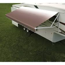 How To Make A Trailer Awning Vinyl Replacement Fabric For Dometic Universal Patio Awning White