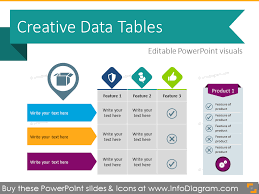 30 creative data table graphics design powerpoint template
