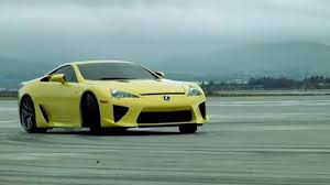lexus supercar lfa lexus lfa vs swimsuit model top gear