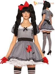ladies leg avenue broken doll voodoo costume womens halloween