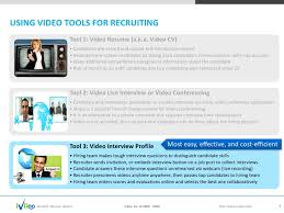 Online Video Resume by Iviioo Online Video Interview Services Cloud Based Recruiting 2 0 P U2026