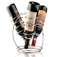 furniture modern decorative wine bottle holders for centerpiece
