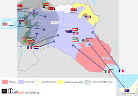 Maps Syria by Mapping The Ongoing U0027world War U0027 In Syria U0026 Iraq Zero Hedge