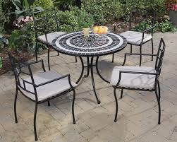 Round Patio Furniture Set by Round Outdoor Dining Table Setting Ideas Babytimeexpo Furniture