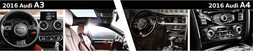 compare audi a3 and a4 2016 audi a3 vs 2016 audi a4 model comparison naperville il