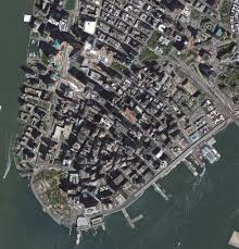 Downtown Manhattan Map Here U0027s How Much Lower Manhattan Has Changed Since The Attacks