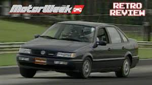 volkswagen glx retro review 1995 vw passat glx youtube
