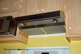 comment enlever une hotte de cuisine installer une hotte de cuisine