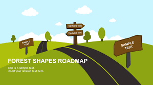 Blank Road Map Template by Google Slides Slidemodel