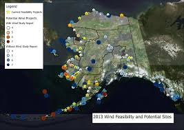 Bethel Alaska Map by Wind Energy Projects
