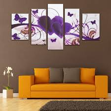 modern abstract canvas print painting picture wall mural hanging