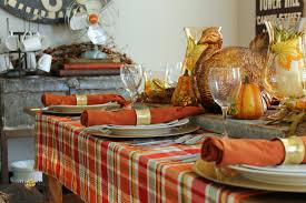 simple thanksgiving tablescape what knows