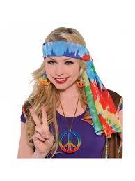 hippie headscarf 60 u0027s fancy dress play u0026 party