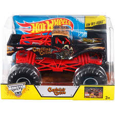 Wheels Monster Jam 1 24 Captain U0027s Curse Die Cast Vehicle