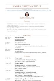 Resume Examples Masters Degree by Junior Accountant Resume Samples Visualcv Resume Samples Database