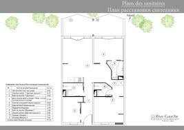 Floor Plan With Plumbing Layout by Rive Gauche French Design U0026decoration