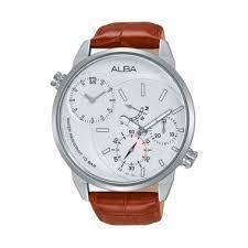 Jam Tangan Alba Analog jual jam tangan alba pria tali kulit baru daftar harga