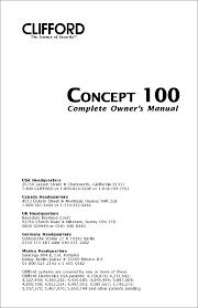 clifford concept 650 alarm wiring diagram efcaviation com