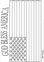 us flag coloring pages summer sunday schoool god bless america authentic u s flag