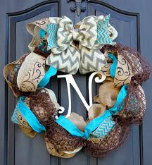 burlap wreaths decor creative christmas decoration with fabulous