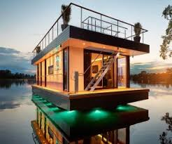 floating houses houseboat and floating house