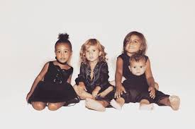 the kardashian family u0027s 2015 christmas card featuring north west