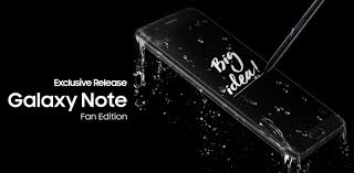 galaxy note 7 fan edition galaxy note fan edition made from galaxy note7 coming to