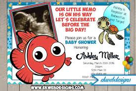 nemo baby shower finding nemo baby shower invitations finding nemo baby shower