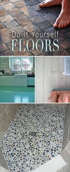 diy bathroom flooring ideas best 25 diy flooring ideas on pebble update wood