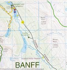 Calgary Alberta Canada Map by Map Of Bow Lake Pn Banff And Jasper Alberta Gem Trek