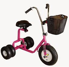 Radio Flyer 79 Big Front Wheel Chopper Trike Tricycle Quite Possibly The Coolest Toy Made Dirt King