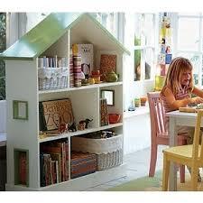 Doll House Bookcase Dollhouse Bookcase Pottery Barn Kids Polyvore