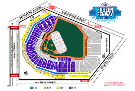 fenway park seating map tickets now on sale for williams vs nescac s