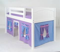 Purple Bunk Beds Maxtrix Purple Light Blue Curtain For Low Loft And Bunk Bed