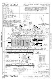 Hartsfield Jackson Airport Map Katl