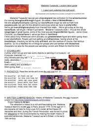 11 free esl london worksheets for intermediate b1 level