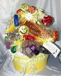 birthday gift basket happy birthday gift basket large hercules candy and chocolate shop