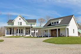 house plans with detached garage and breezeway quintessential american farmhouse with detached garage and breezeway