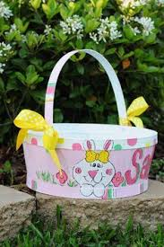 painted easter baskets painted galvanized metal easter diy