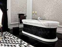 bathroom furniture bathroom interior round glossy stone bathtub