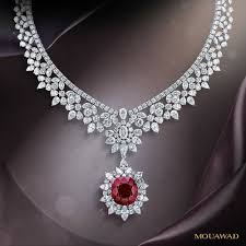 diamond necklace ruby images Mouawad ruby and diamond necklace pinteres jpg