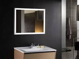 lights lighted bathroom mirror vanity makeup with round and
