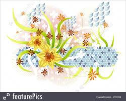 spring season graphics illustration